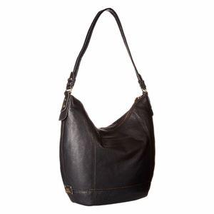The Sak Black Leather Seqouia Hobo